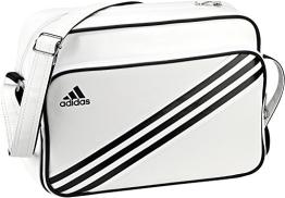 adidas Schultertasche Enamel 3-Stripes S, weiß