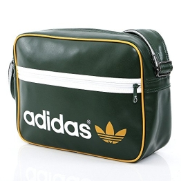 adidas Umhängetasche Adicolor Airliner, dunkelgrün