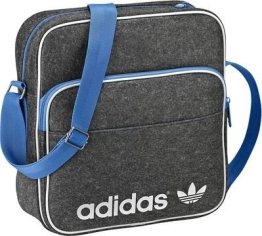 adidas Umhängetasche Herren Adicolor Winter Sir Bag, dunkelgrau
