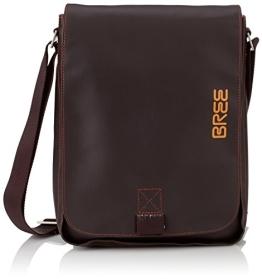 BREE Punch 52, mocca, shoulder bag S 83880052 Unisex-Erwachsene Schultertaschen 28x22x6 cm (B x H x T), Braun (mocca 880) - 1