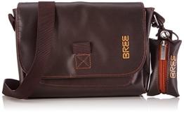 BREE Punch 701, mocca, cross shoulder S 83880701 Damen Umhängetaschen 26x7x19 cm (B x H x T), Braun (mocca 880) - 1