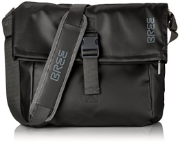 Bree Punch 98 Messenger Bag LKW Plane, Schwarz - 1