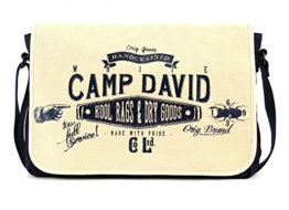CAMP DAVID Blue Creek Messengerbag Offwhite -