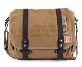 CAMP DAVID Rocky Mountain Messengerbag Sand -